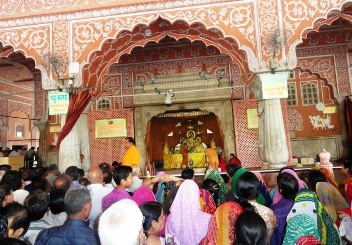 गोविन्द देव टेम्पल जैपुर