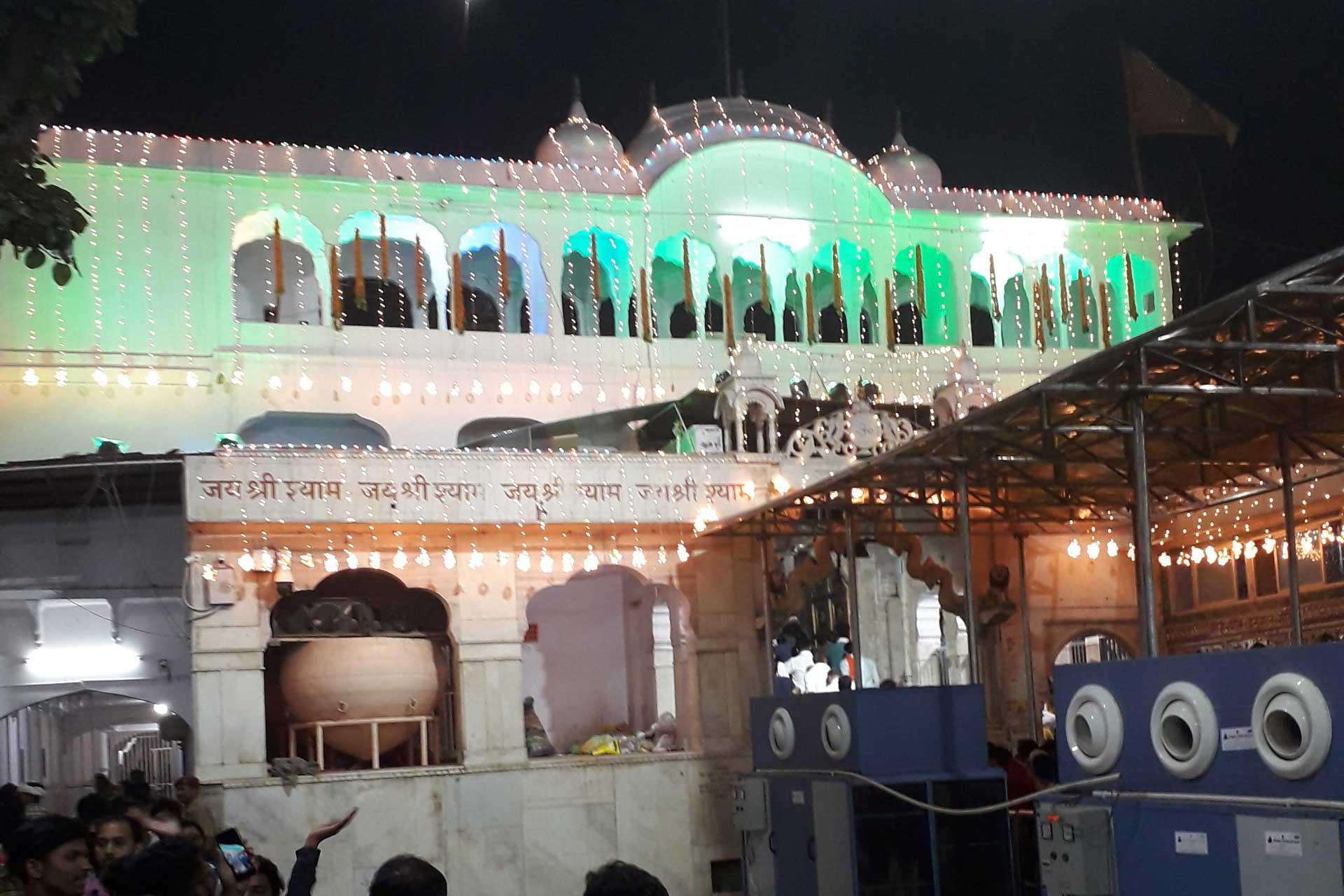 Khatu Shyam Temple in Rajasthan